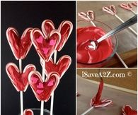 DIY Valentine's Day Lollipop Bouquet