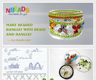 Make Beaded Bangles with Beads And Bangles