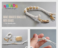Make Braided Bracelets with Beads