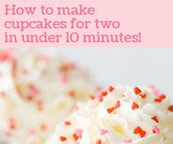DIY Valentines Cupcakes