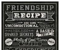 Friendship recipe