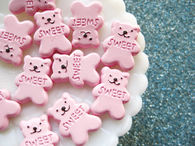 Pink Teddy Bear Marshmallows