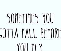 Fall Before You Fly