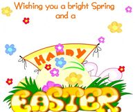 Wishing you a bright spring and a happy easter
