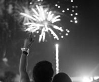 Firework couple