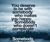 somebody who wont hurt you