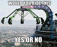 would you ride this