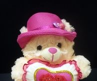 Love Bear with Pink Hat