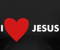 I heart Jesus