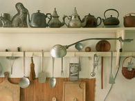 Collection of Antique Teapots & Utensils