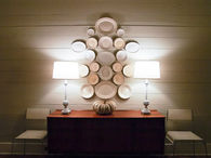 Collection of Symmetrically Hung Plates