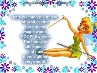 I hate cleaning the house
