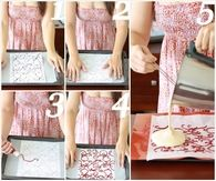 DIY Patterned Swiss Roll Cake