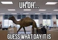 Uh Oh Guess What Day It Is