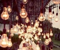 Dangling lights