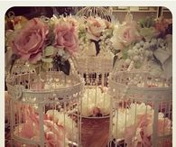 Caged centerpieces