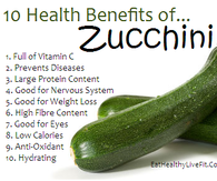 10 Health Benefits of Zucchini
