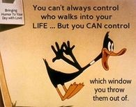 You cant always control who walk into your life