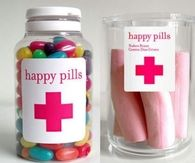 Happy candy pills