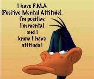I have PMA