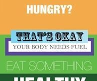 Eat something healthy