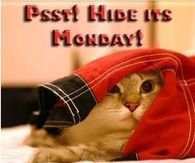 Hide its Monday