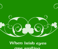 When Irish eyes