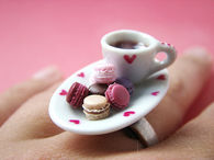 Tea and cookies ring