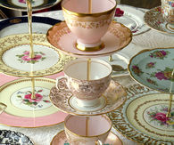 Tea cups and dishes
