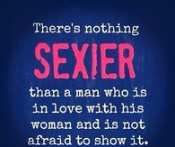 Nothing sexier than a man who is in love with his woman