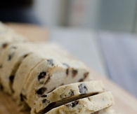 Cookie dough slices