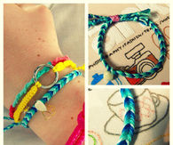 DIY Ombre Fishtail Friendship Bracelet Tutorial