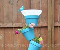 DIY Garden Planter and Birds Bath
