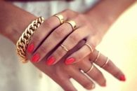 Lovely gold rings