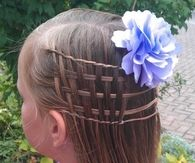 Cute mini braids for girls