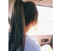 Summer ponytail