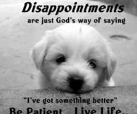 Disappointment