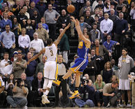 Klay Thompson Game winner 3/4/14