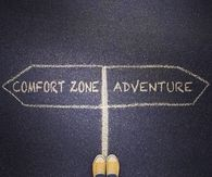 Comfort zone and adventure