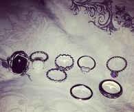 Beautiful ring collection