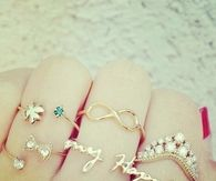 Cute finger rings
