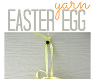 Yarn easter egg