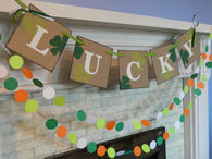 St Patricks Day Lucky Banner