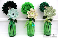Green and green decor