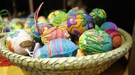 Knit Easter eggs