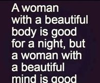 a woman with a beautiful mind