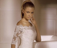 2014 White Ivory Lace Wedding Dress Bridal Dress