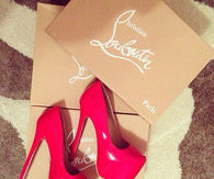 Candy Red Stiletto Pumps