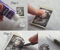 Easy DIY Photo Pendan
