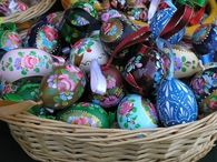 Beautiful Hand Painted Easter Eggs